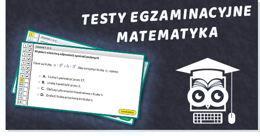 Egzamin ósmoklasisty matematyka